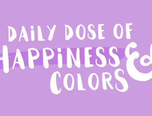 Daily dose of happiness and colors – Happy girls are the prettiest